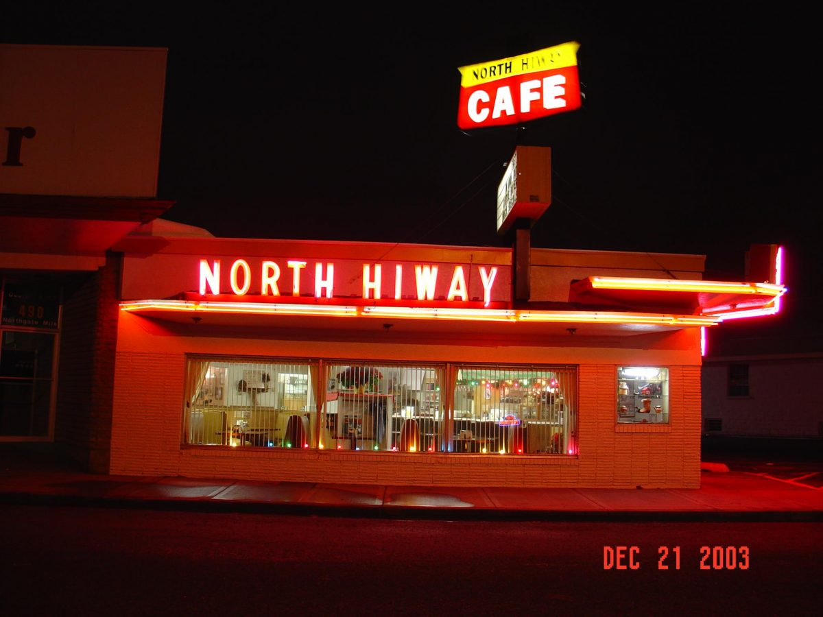 The North Hi-Way Cafe Annual Car Show and 87th Birthday Bash